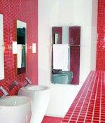 дизайнерски стъклен радиатор тип огледало