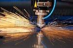 ласерско сечење метала