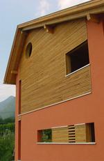 дрвена фасада облагање на захтев