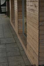 окачени дървени облицовки