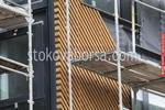 външни стенни решения с дървени облицовки