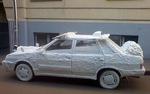 декоративна кола от стиропор