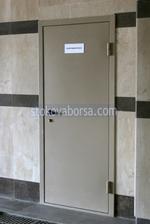 метална еднокрила противопожарна врата