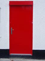 еднокрила пожароустойчива врата