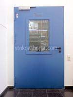 еднокрила врата против пожар