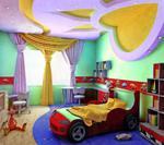 модерен окачен таван