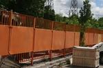 производство на плътни метални огради