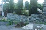 ниска метална ограда
