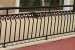 изработка на ниски метални огради от метални профили