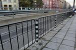 тръбно-решетъчни парапети с дължина 1,80м. и височина 0,80м