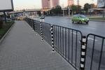 тротоарни предпазни огради