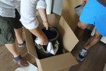 опаковане и преместване на чупливи товари по поръчка