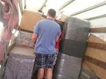 частично опаковане и преместване на нечупливи товари