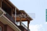 Фирма за дървен навес за балкон по поръчка