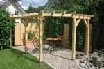 дървени перголи за градината - изработка и монтаж