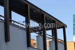 Навеси от дърво за балкони по поръчка