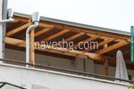 Дървени навеси за балкони по поръчка