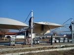 изграждане на мембранна конструкция за паркинг