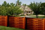 дървени огради от дървени пана 200x125см