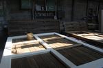 огради от дървени пана 200x100см