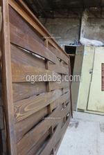 дървени огради от дървени пана 200x100см