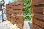 оградни пана от чам с размер 200x70см
