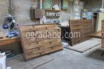 дървена ограда по поръчка от дървено пано 200x80см.