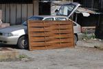 дървени огради от дървени пана 200x110см