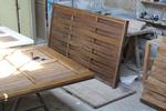 огради от дървени пана 200x110см