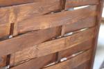 дървена ограда по поръчка от дървено пано 200x110см.
