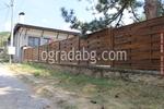 дървени огради от чам с оградни пана 200x125см