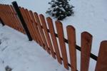производство на дървени ниски оградни пана по поръчка