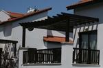 балконски дървени парапети от дъб по поръчка