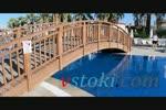 изработка на дървени мостове по поръчка