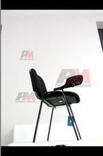 посетителски офис стол с масичка с доставка